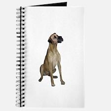 Great Dane (fawn) Journal