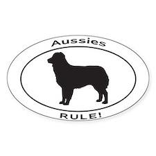 AUSSIE RULE Decal