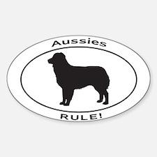 AUSSIES RULE Decal