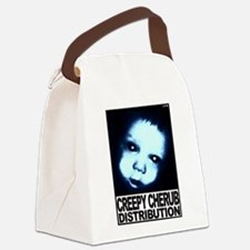 Cute Indie horror film Canvas Lunch Bag