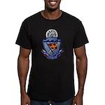 USS PRESTON Men's Fitted T-Shirt (dark)
