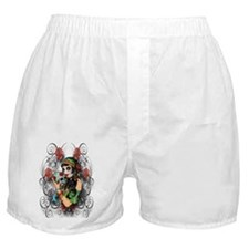 Candy Rose Skull Boxer Shorts