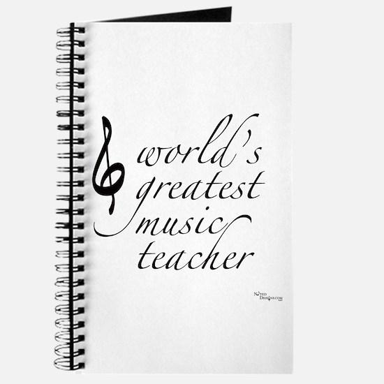 world's greatest music teache Journal