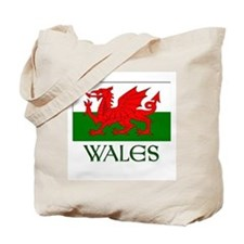 For the love of Wales! Tote Bag