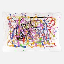 Painte Splatter My Way Pillow Case