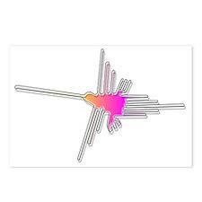 Nazca Lines Hummingbird Postcards (Package of 8)