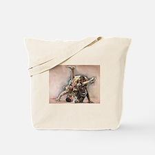 ufc oil Tote Bag