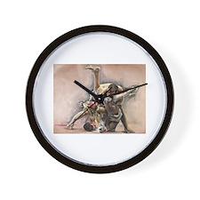 ufc oil Wall Clock
