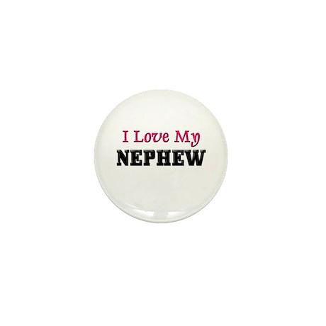 I LOVE MY NEPHEW Mini Button (10 pack)