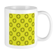 Smiling Sun Pattern Mugs