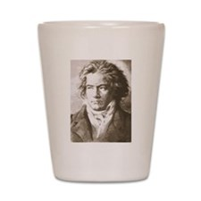 Unique Beethoven Shot Glass