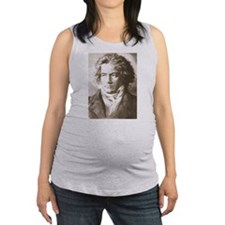 Funny Composer Maternity Tank Top