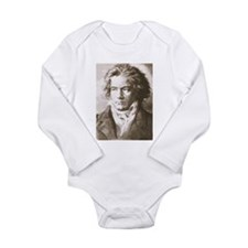Beethoven In Sepia Body Suit
