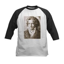 Beethoven In Sepia Baseball Jersey