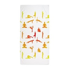 Unique Asana Beach Towel