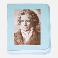 Cute Beethoven baby blanket