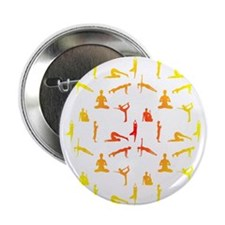 """Funny Yoga 2.25"""" Button (10 pack)"""