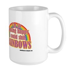 Coffee Mug - Shitting Rainbows Mugs