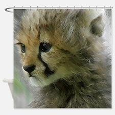 Unique Cheetah Shower Curtain