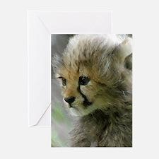 Cheetah 015 Greeting Cards