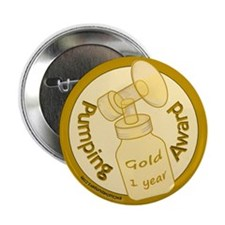 "Gold Award (1 Year) 2.25"" Button"