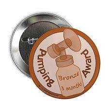 """Bronze Award (3 Months) 2.25"""" Button"""