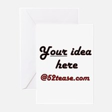 Personalized Customized Greeting Cards (Package of