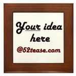 Personalized Customized Framed Tile