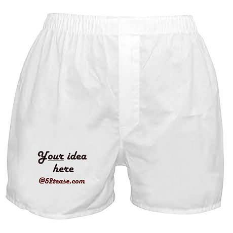 Personalized Customized Boxer Shorts