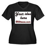 Personalized Customized Women's Plus Size V-Neck D