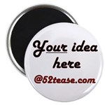 "Personalized Customized 2.25"" Magnet (10 pack)"