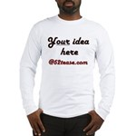 Personalized Customized Long Sleeve T-Shirt