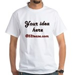 Personalized Customized White T-Shirt