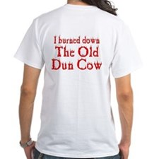 I burned down The Old Dun Cow