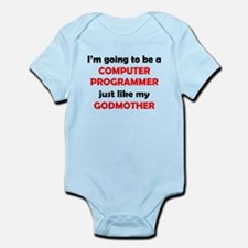 Computer Programmer Like My Godmother Body Suit
