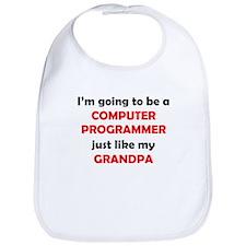 Computer Programmer Like My Grandpa Bib
