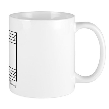 decaf (piano) Mug