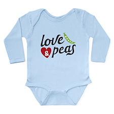 Love & Peas (Bebés) Body Suit