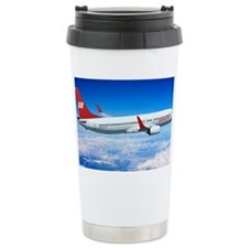 Braniff Red Breed Travel Mug