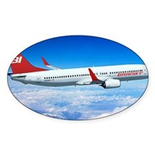 Braniff Red Breed Decal