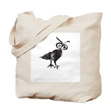 Owl Petroglyph Tote Bag