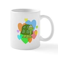 Turtle Hearts Small Mugs