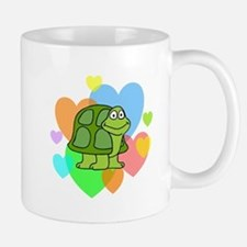 Turtle Hearts Small Small Mug