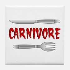 Carnivore Tile Coaster