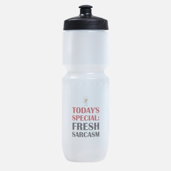 Todays Special Sarcasm Sports Bottle