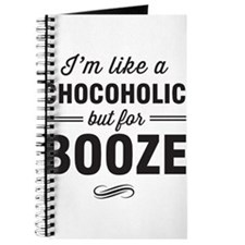 Chocoholic but for booze Journal
