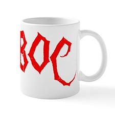BOC Letters (Without Border) Mug