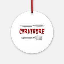 Carnivore Ornament (Round)