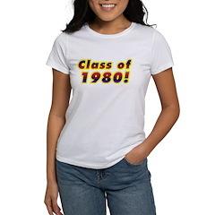 Class of 1980 Tee
