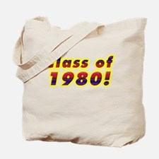 Class of 1980 Tote Bag